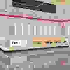 تصميم وتنفيذ اعمال التشطيبات لصيدلية كير مول طنطا من تريبل فيجن حداثي