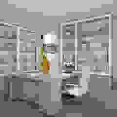 Bedok Reservoir Road Modern study/office by Swish Design Works Modern Plywood