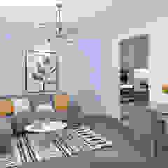 Bedok Reservoir Road Modern living room by Swish Design Works Modern