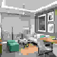 Kim Keat Link Modern living room by Swish Design Works Modern