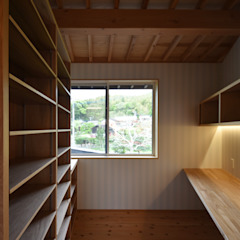 by 久木原工務店 Asian لکڑی Wood effect