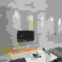Ang Mo Kio Ave 3 Modern living room by Swish Design Works Modern Plywood