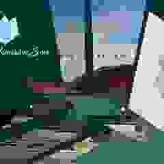 od Arq. Joanna Hernández Eklektyczny Aluminium/Cynk