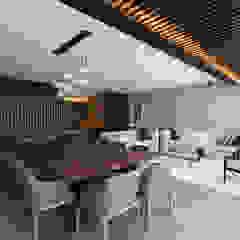 Departamento AV Comedores modernos de ARCO Arquitectura Contemporánea Moderno