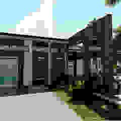od MGTua Architects + Design Innovations Minimalistyczny Beton