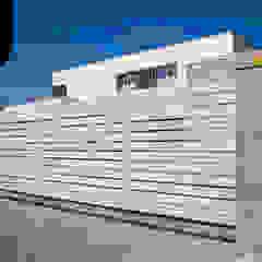 Perfect Match. Nowoczesne ogrodzenie aluminiowe Xcel od Xcel Nowoczesny