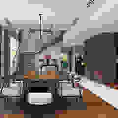 CÔNG TY THIẾT KẾ NHÀ ĐẸP SANG TRỌNG CEEB Modern dining room
