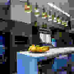 Residência sofisticada Cozinhas ecléticas por Élcio Bianchini Projetos Eclético