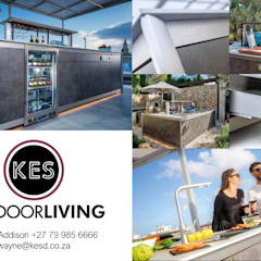 Outdoor Kitchens by KES OUTDOOR LIVING (PTY)LTD Mediterranean Ceramic