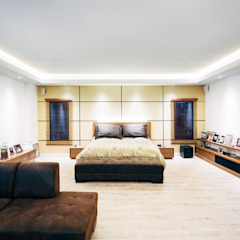 TORRES MONTERO Habitaciones modernas de Modismo Moderno