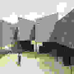 Apartment MK モダンな 壁&床 の 1-1 Architects 一級建築士事務所 モダン