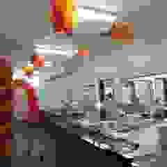 Brascopper - Restaurante Profissional Espaços gastronômicos industriais por JP GOMES ARQUITETURA Industrial