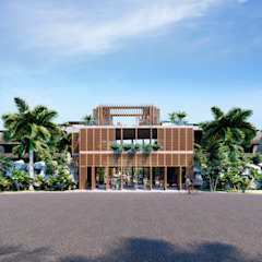 by UNREALITY Architecture & Design Tropical