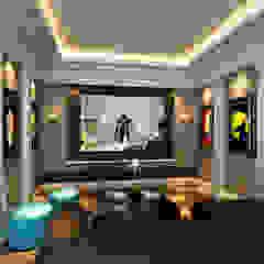 Sunway Vivaldi Penthouse Classic style media rooms by Latitude Design Sdn Bhd Classic