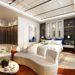 Sunway Vivaldi Penthouse Classic style bedroom by Latitude Design Sdn Bhd Classic