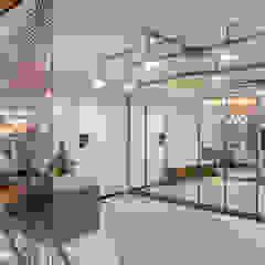 UĞUR BİRKAN EVİ Eklektik Koridor, Hol & Merdivenler Mimoza Mimarlık Eklektik