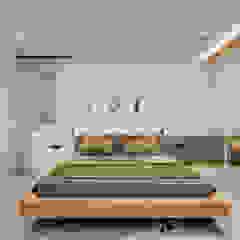 UĞUR BİRKAN EVİ Eklektik Yatak Odası Mimoza Mimarlık Eklektik