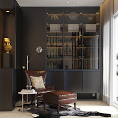 Pavilion Hilltop, Mont Kiara Modern style study/office by Norm designhaus Modern