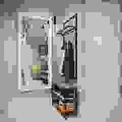 Minimalist corridor, hallway & stairs by Astra_design Minimalist