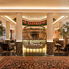 Eclectic style hotels by Gancedo Eclectic