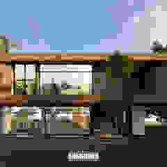 根據 The OnGround บริษัทรับสร้างบ้านสไตล์ Modern Japanese 熱帶風