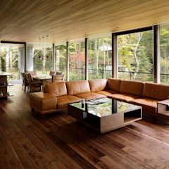 Modern living room by atelier137 ARCHITECTURAL DESIGN OFFICE Modern لکڑی Wood effect