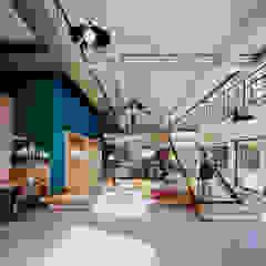 Industrial style office buildings by Omega Render Industrial