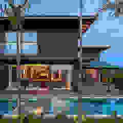 van Studio Kyze Arquitetura e Design Tropisch Massief hout Bont