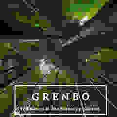 Grenbo Bambú GRENBO Casas de estilo asiático