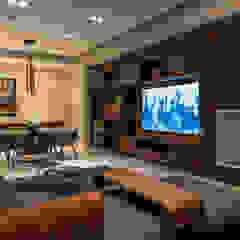 Salas multimedia modernas de Concepto Taller de Arquitectura Moderno