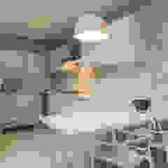 Residência Clean Cozinhas ecléticas por Élcio Bianchini Projetos Eclético