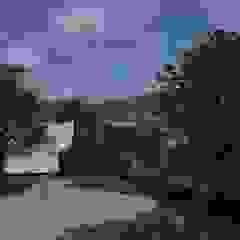 Minimalist corridor, hallway & stairs by GT Construcciones Minimalist Chipboard