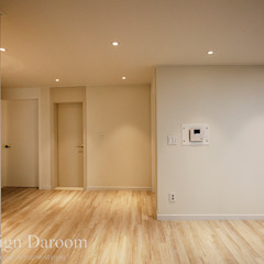 면목동 두원APT 모던스타일 복도, 현관 & 계단 by Design Daroom 디자인다룸 모던
