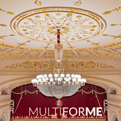 Galli Theater, Rimini من MULTIFORME® lighting كلاسيكي