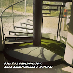 by ARKA Arquitectura & Habitat Industrial