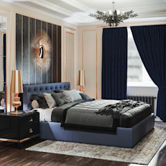 Industrial style bedroom by Артпланнер Industrial