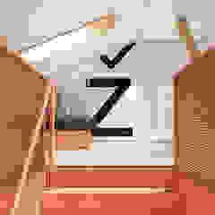 Gnezdo. Коворкинг Офисы и магазины в стиле минимализм от Да-зайн Бюро Минимализм Железо / Сталь