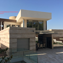 من DYOV STUDIO Arquitectura. Concepto Passivhaus Mediterráneo. 653773806 بحر أبيض متوسط رخام