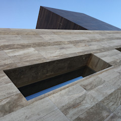 by DYOV STUDIO Arquitectura. Concepto Passivhaus Mediterráneo. 653773806 Mediterranean سنگ مرمر