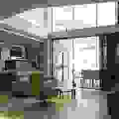 Comedores de estilo mediterráneo de DYOV STUDIO Arquitectura. Concepto Passivhaus Mediterráneo. 653773806 Mediterráneo Mármol