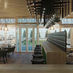 by Aller design Scandinavian لکڑی Wood effect