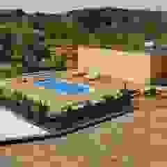 من Freedom Pools Portugal بحر أبيض متوسط زجاج