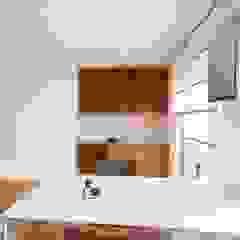 raumdeuter GbR Modern style study/office Wood White
