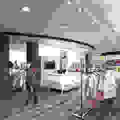Магазин REELOVE Офисы и магазины в стиле модерн от Ideal Space Модерн