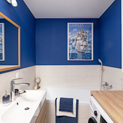 Banheiros coloniais por IDEALS . Marta Jaślan Interiors Colonial