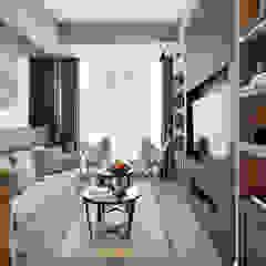Mandarins Esra Kazmirci Mimarlik Living roomSide tables & trays Iron/Steel Beige