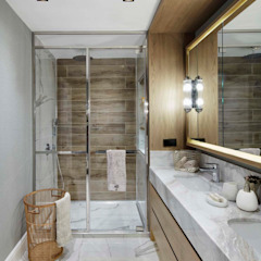Afyon house Esra Kazmirci Mimarlik BathroomFittings Wood Beige