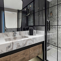 Afyon house Esra Kazmirci Mimarlik BathroomFittings Ceramic Grey
