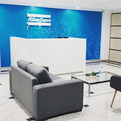 Paulo Rodrigues Decoração & Design Commercial Spaces Blue