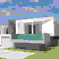 Barreres del Mundo Architects. Arquitectos e interioristas en Valencia. Single family home Concrete White